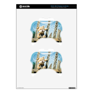 Cute Teddy Xbox 360 Controller Decal