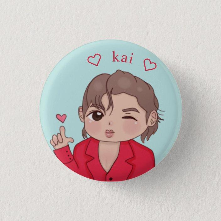 cute teen kpop exo kai button re8a36183f3f24cf1849156339451c8cd k94r8 704