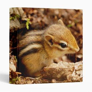 "Cute Teeny Baby Chipmunk 1"" Photo Album Binder"