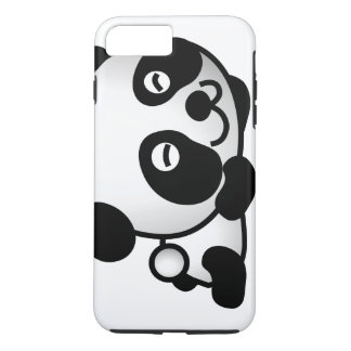 Cute Tell me more Panda iPhone 7 Plus Case