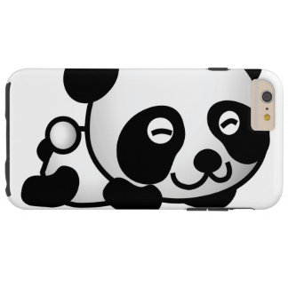 Cute Tell me more Panda Tough iPhone 6 Plus Case