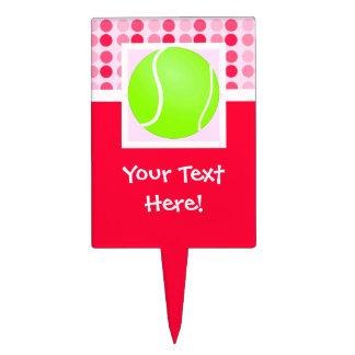 Cute Tennis Ball Cake Topper