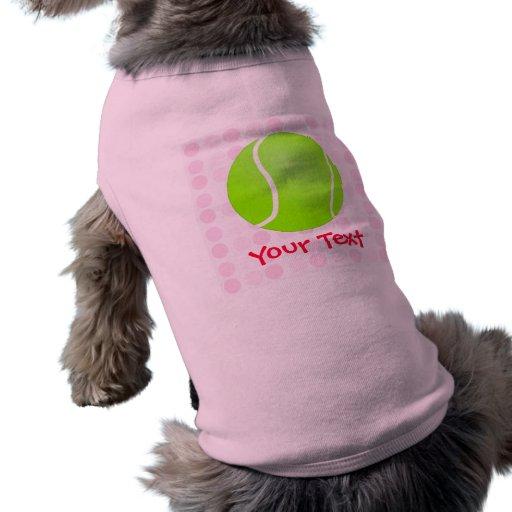 Cute Tennis Ball Doggie Shirt