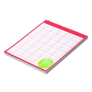 Cute Tennis Ball Memo Notepad