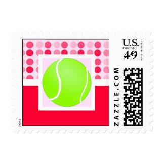 Cute Tennis Ball Stamp