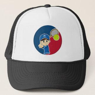 Cute Tennis Boy Cap