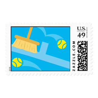 Cute tennis stamps