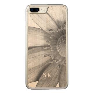 Cute Texas Spring Windflower Monogram Floral Carved iPhone 8 Plus/7 Plus Case