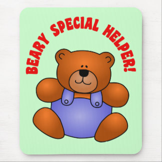 Cute Thanks to a Very Special Helper Volunteer Mouse Pad