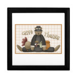 Cute Thanksgiving Bear Tees and Gifts Gift Box