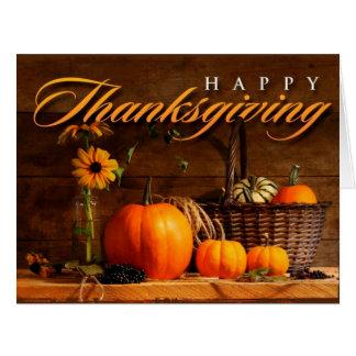 Cute Thanksgiving Pumpkin Cards