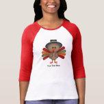 Cute Thanksgiving Turkey (customizable) T-Shirt
