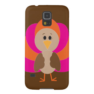 Cute Thanksgiving Turkey Fall Autumn Harvest Galaxy S5 Case