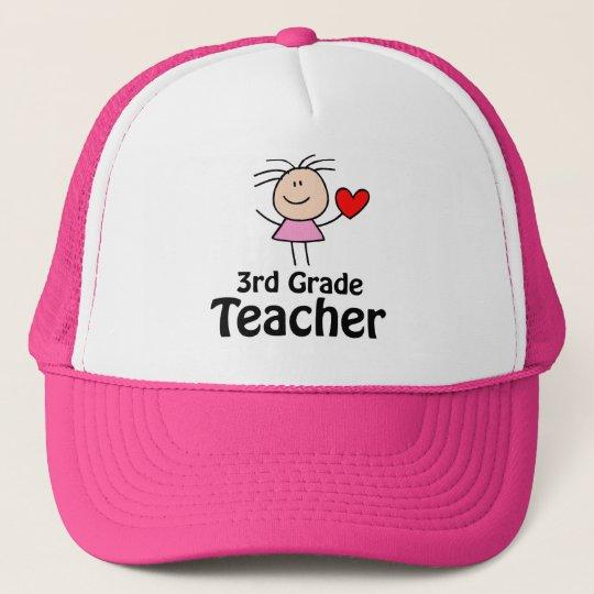 Cute Third Grade Teacher Cap