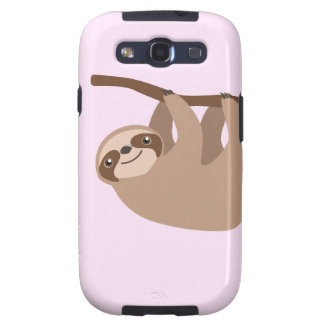 Cute Three-Toed Sloth Samsung Galaxy S3 Cases