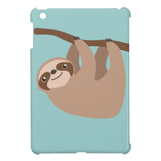 Cute Three-Toed Sloth iPad Mini Covers
