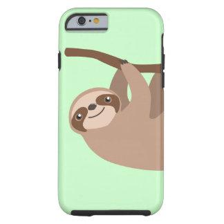 Cute Three-Toed Sloth iPhone 6 Case