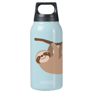 Cute Three-Toed Sloth 10 Oz Insulated SIGG Thermos Water Bottle