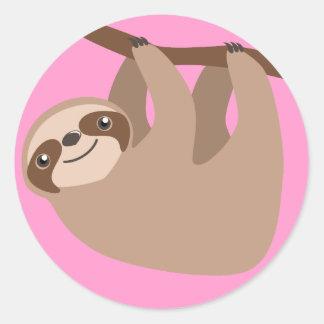 Cute Three-Toed Sloth Sticker
