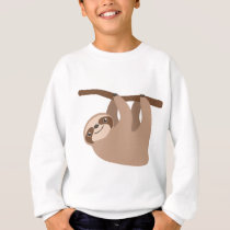 Cute Three-Toed Sloth Sweatshirt