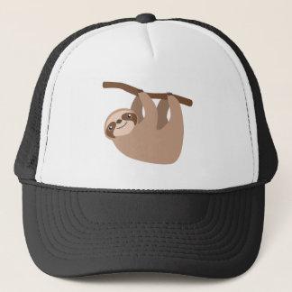 Cute Three-Toed Sloth Trucker Hat