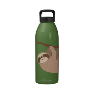 Cute Three-Toed Sloth Water Bottles