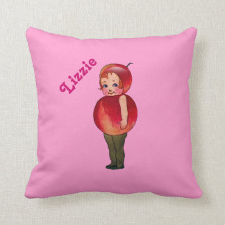 Cute Throw Pillow for Kid's Room with Name