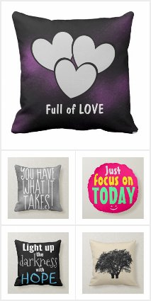 Inspirational Throw Pillow Gifts
