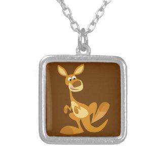 Cute Thumping Cartoon Kangaroo Necklace