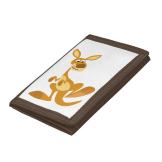 Cute Thumping Cartoon Kangaroo Wallet
