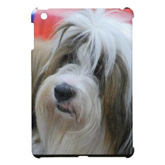 Cute Tibetan Terrier Dog iPad Mini Covers