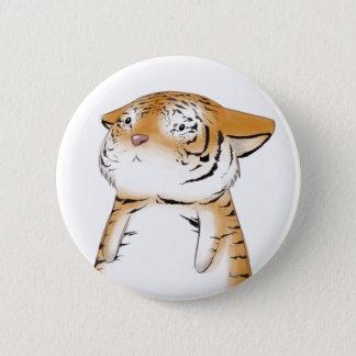Cute Tiger Button