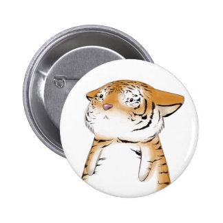 Cute Tiger Button