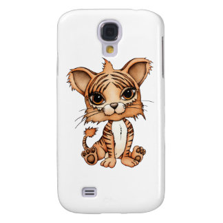 Cute Tiger Galaxy S4 Covers