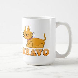 Cute tiger cub cat animal pet brave bravo cartoon coffee mug