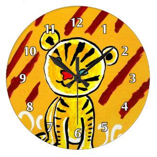 Cute Tiger Cub Clocks