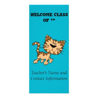 Cute Tiger Cub Rack Card