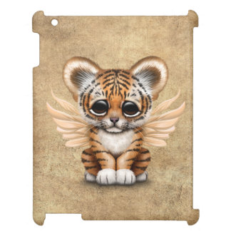 Cute Tiger Cub with Fairy Wings iPad Case