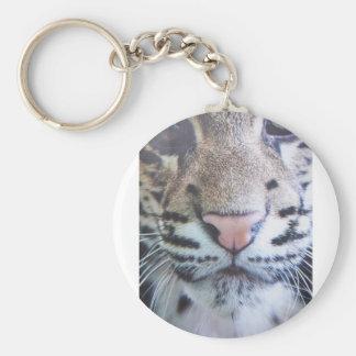 Cute Tiger Eyes Keychain