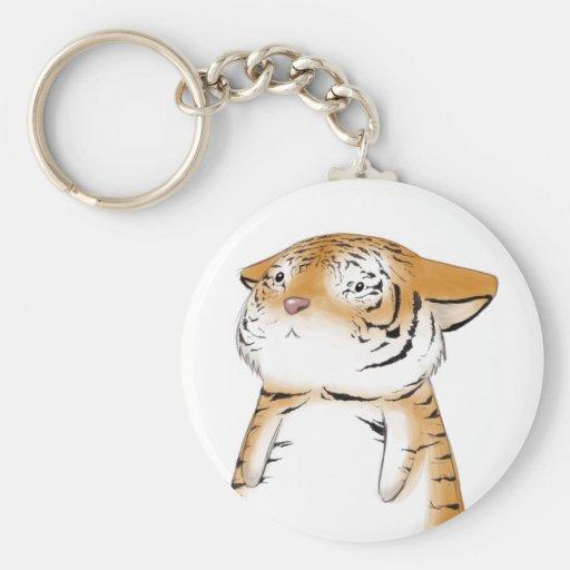 Cute Tiger Keychain