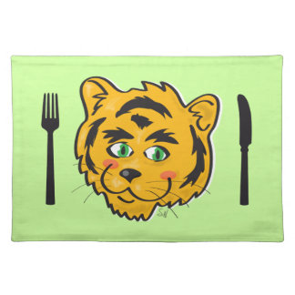Cute Tiger Place Mat