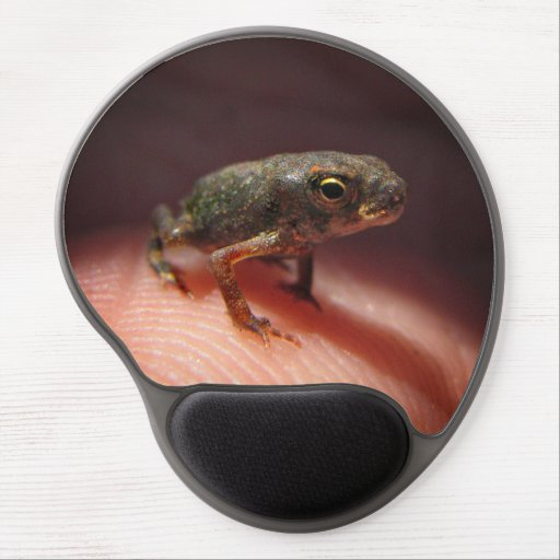Cute Tiny Baby Toad / Tadpole Gel Mouse Pad