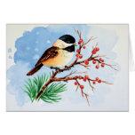 Cute tiny bird cards