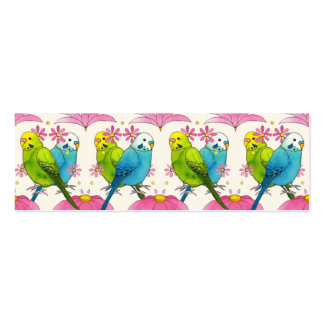 Cute tiny bussiness card Bird Illustration