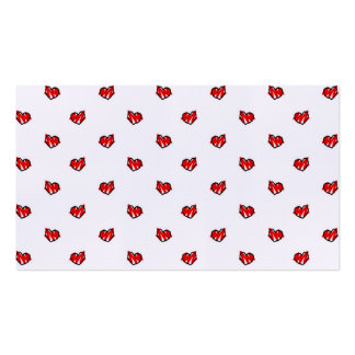 Cute Tiny Valentine Hearts Business Card