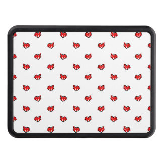 Cute Tiny Valentine Hearts Tow Hitch Cover