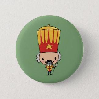 Cute to nutcracker pinback button