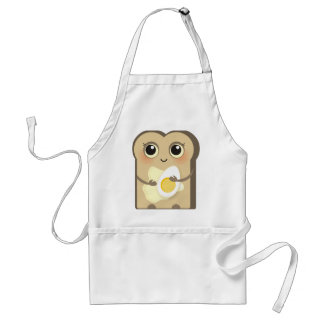 Cute Toasties - Butter and Egg Adult Apron
