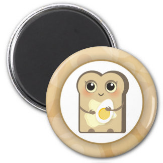 Cute Toasties - Butter and Egg Magnet