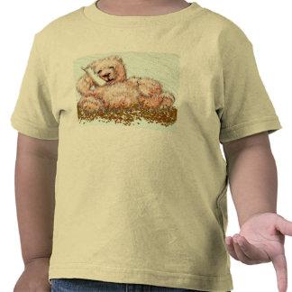 Cute Toddler Kid's Tshirt Honeybear Teddy Bear Tee